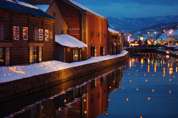 日本の素敵な街並み「川と運河のある風景」