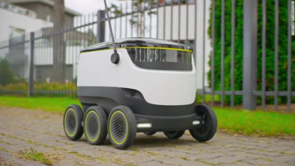 近未来 郵便配達ロボット・ドローン導入の試験へ