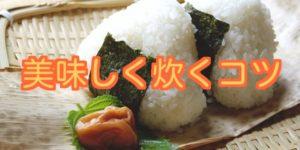 日本人はやっぱお米でしょ!