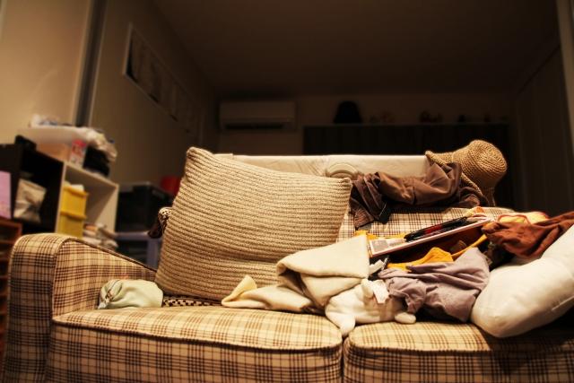 きれいな部屋を維持したい!散らかる理由が分かれば即解決!